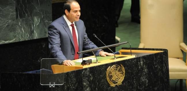 """""""السيسي"""" يطالب البرلمان بتبني قضايا التعليم والصحة والمرأة والشباب"""