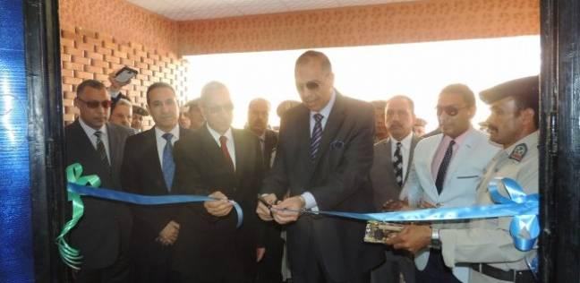 مدير أمن المنيا يفتتح مركز شرطة سمالوط شرق