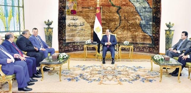 السيسى  يوجه الحكومة بتطبيق برنامج  تنمية الصعيد  في محافظات جديدة - مصر -