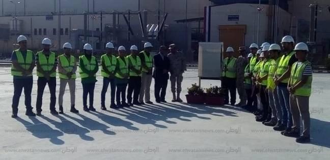 بالصور| السيسي يفتتح محطة كهرباء البرلس بسعة 4800 ميجاوات بملياري يورو