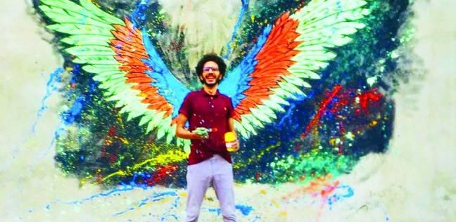 طالب هندسة يحول مقالب القمامة إلى جداريات: الفنون جنون