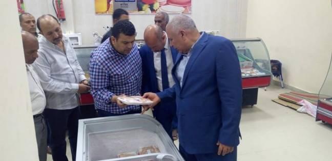 محافظ الوادي الجديد يتفقد فرع الشركة المصرية لتجارة السلع الغذائية