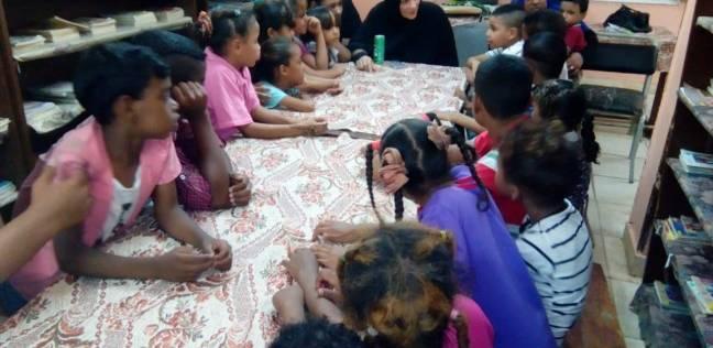 """تنظيم ورش فنية متنوعة للأطفال بـ""""ثقافة الأقصر"""""""
