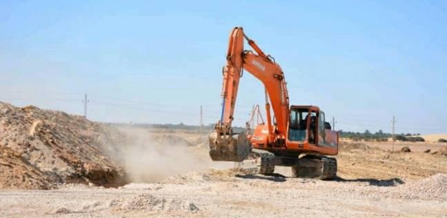 البدء في أعمال حفر مسجد الخارجة الجديدة بتكلفة 20 مليون جنيه