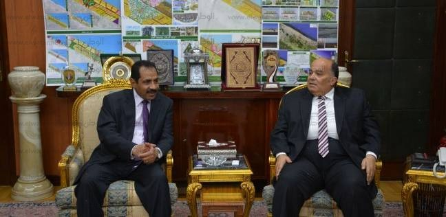 محافظ الدقهلية يستقبل اللواء مصطفى النمر مدير الأمن الجديد