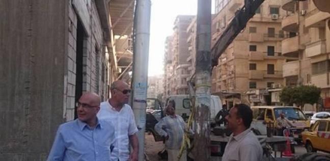 """رئيس """"المحلة"""" يوجه بضرورة التنسيق مع مسؤولي المدينة لحماية المواطنين"""