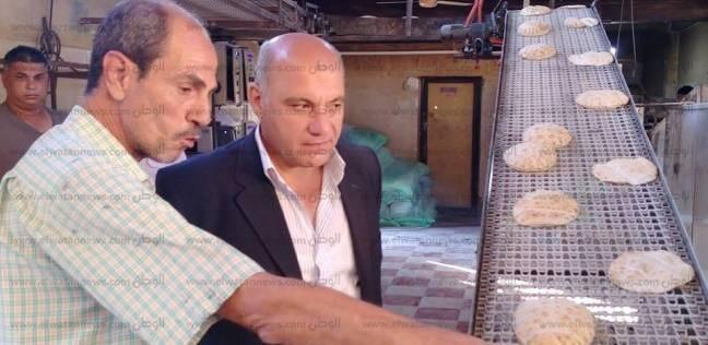  رئيس مدينة رأس سدر يتفقد سير العمل والإنتاج بمخابز المدينة