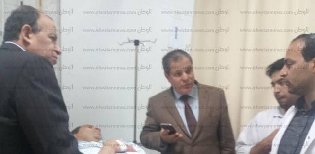 رئيس نادى القضاة يتوجه لمعهد ناصر للاطمئنان على صحة قاضي لجنة شبرا
