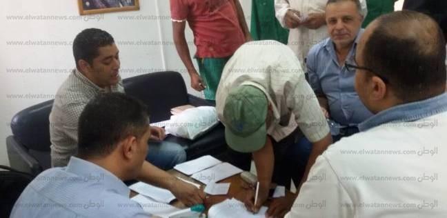 إقبال كثيف على لجان الانتخابات العمالية بديوان عام محافظة جنوب سيناء