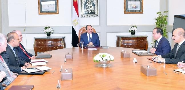 السيسي يستقبل رئيس مجلس إدارة شركة نوبل إنرجي