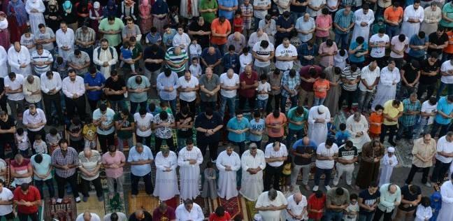 صلاة عيد الأضحى في مصر الجديدة