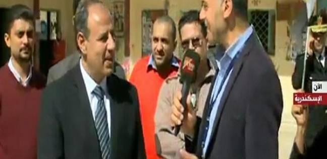 محافظ الإسكندرية: الحادث الإرهابي لم يؤثر على العملية الانتخابية