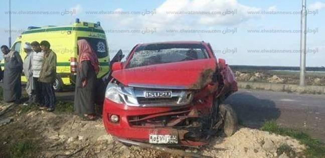 استجواب قائد السيارة المتسبب في انقلاب سيارة نائب رئيس مجلس الدولة