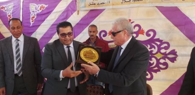 وكيل وزارة التربية يكرم محافظ جنوب سيناء لدعمه للعملية التعليمية
