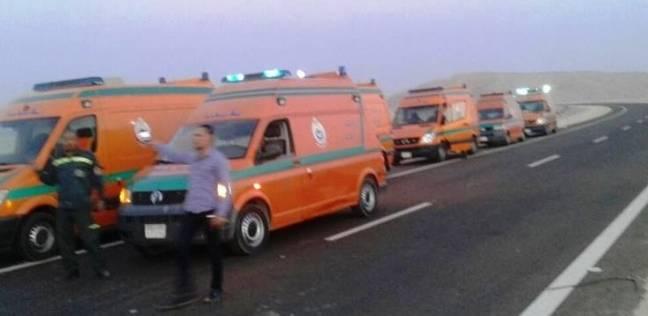 """""""صحة الشرقية"""": نشر سيارات الإسعاف في الميادين استعدادا لشم النسيم"""