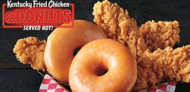 ساندويشة الدجاج بالدونانتس أحدث ابتكارات كنتاكي
