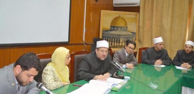 وزير الأوقاف يستقبل وفدا من الجامعة الإسلامية العالمية بماليزيا
