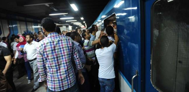 ضبط نشال متلبس بسرقة حافظة نقود راكب في مترو الأنفاق
