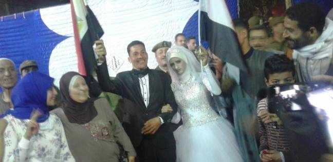 b1d1942db برقية تهنئة من محافظ سوهاج لعروسين أدليا بصوتيهما: أتمنى لكما السعادة