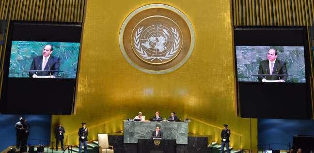 """مندوب مصر بالأمم المتحدة: """"رؤية 2030"""" حققت التنمية المستدامة"""