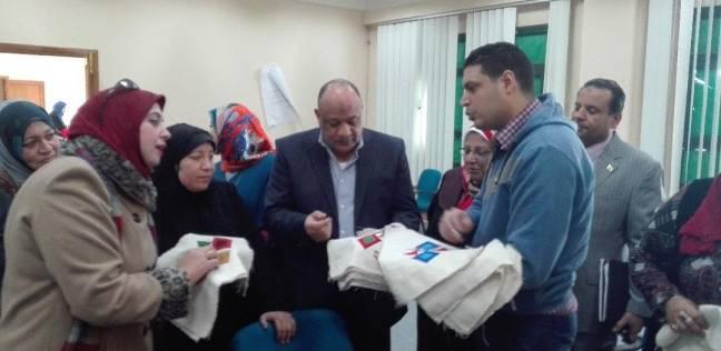 افتتاح معرضين لمنتجات ورش الحرف التراثية في المنيا