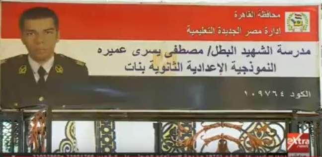وزير الداخلية السابق يدلي بصوته في مدرسة الشهيد أبو عميرة
