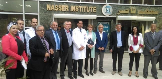 الأولى بمستشفى حكومي.. تقنية لاستخراج وريد الساق بالمنظار في معهد ناصر