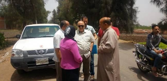 """رئيس """"السنطة"""" يأمر بإنهاء أعمال تجديد وإحلال كوبري الجعفرية"""