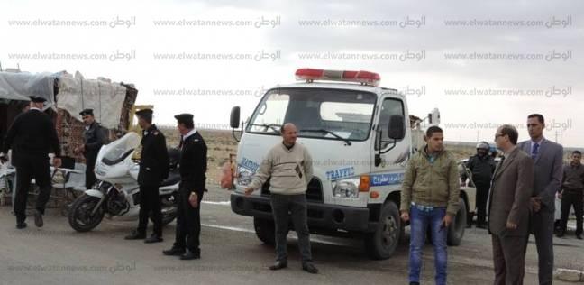 ضبط 3 سائقين بتهمة تعاطي المخدرات أثناء القيادة في المنيا