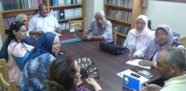 """""""مهندسين الإسكندرية"""" تبحث أوجه تعاون جديدة مع قصر ثقافة الشاطبي"""
