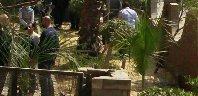 شرطة المفرقعات تسيطر على عبوة هيكلية بالقرب من إحدى المدارس بالزرقا