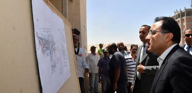 """""""مدبولي"""" يعتمد تخطيط إقامة 4 آلاف وحدة سكنية في برج العرب الجديدة"""