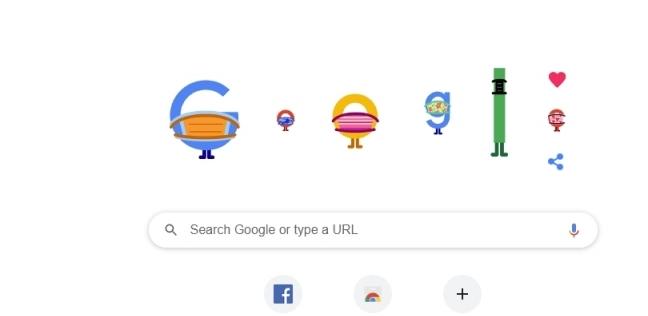 شعار جوجل بعد تغييره