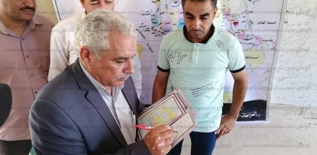 تكريم طلاب مدارس التربية الخاصة في الشيخ زويد ورفح