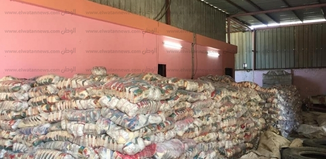 ضبط شخصين بحيازتهما 44 طن أرز تمويني مدعم في كفر الشيخ