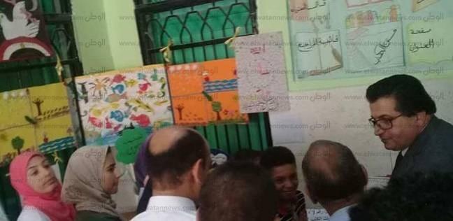 """""""تعليم جنوب سيناء"""" يستقبل لجنة وزارية لتقييم معسكر """"إقرأ """" للمكتبات"""