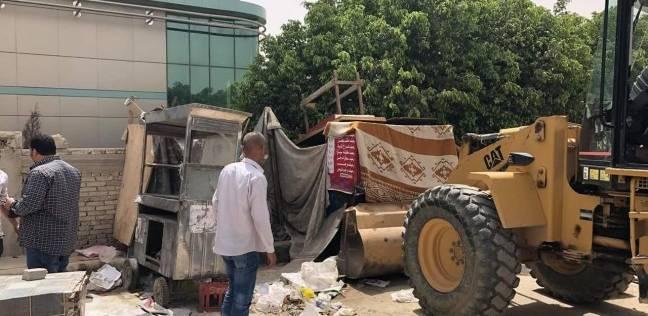 جهاز القاهرة الجديدة يواصل حملات إزالة مخالفات البناء بالتجمع الخامس
