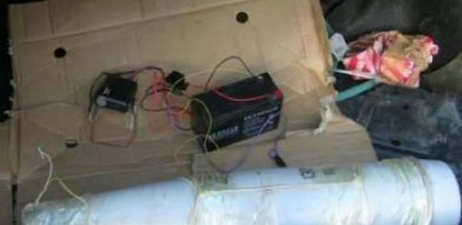العثور على عبوة هيكلية بالقرب من قسم شرطة ثان المنصورة