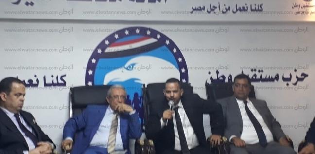 """رئيس """"مستقبل وطن"""" من أسيوط: الشعب الذي قام بثورتين هو من يبني مصر"""