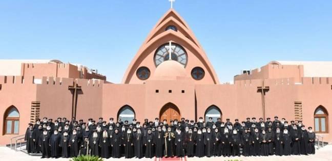 الداخلية: مشاجرة بين رجال دين مسيحي أمام الكنيسة الإنجيلية بالاسماعيلية