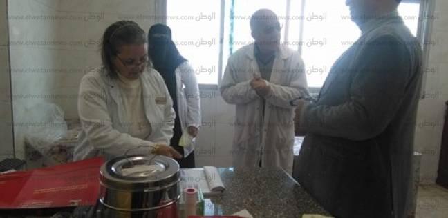 """وكيل """"صحة شمال سيناء"""" يطمئن مرضى غسيل الفشل الكلوي بمستشفى الشيخ زويد"""