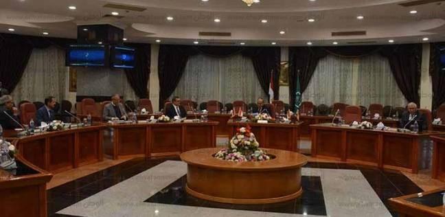 """""""العلقامي"""" نائبا عن """"حبيب"""" في اجتماع وزير التنمية المحلية بالمنيا"""