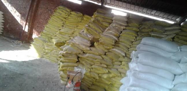 """""""تموين البحيرة"""": ضبط 15 طنا من الأسمدة الزراعية المدعمة"""