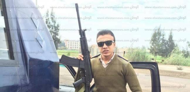 """""""الوطن"""" تنشر صور الضابط شهيد """"رخصة القيادة"""" بكفر الشيخ"""