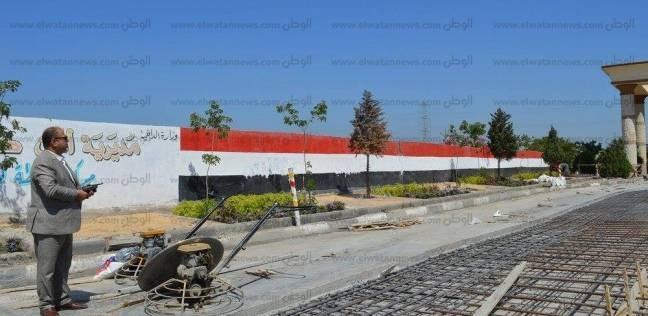 بالصور  مساعد محافظ كفر الشيخ يتفقد تطوير ورفع كفاءة مدخل المدينة