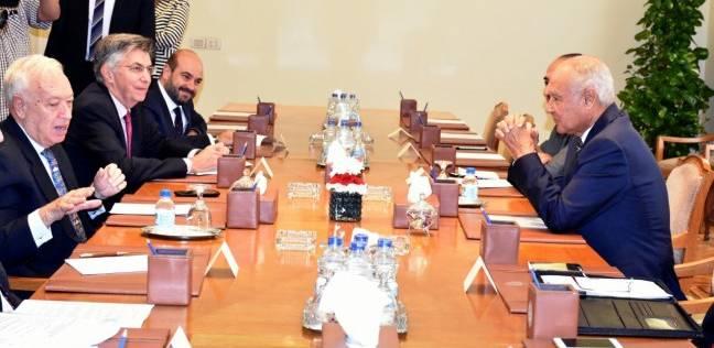 أحمد أبو الغيط يطالب بتوفير الدعم العربي للاقتصاد الفلسطيني