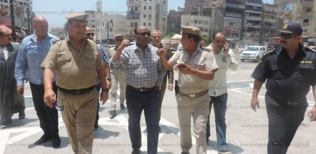 تحرير 287 مخالفة مرافق وإشغالات و66 قضية تموينية في حملة بالغربية