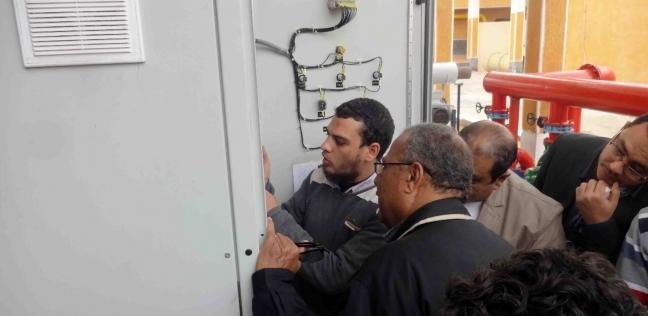 «مياه سوهاج»: تنفيذ مشروع ترشيد الطاقة الكهربائية بـ«الحواويش»