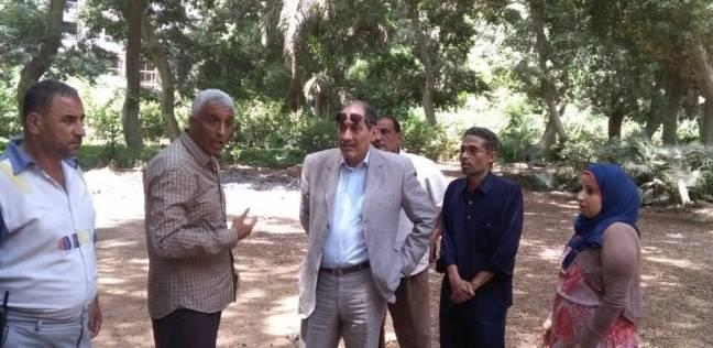"""نائب محافظ الجيزة يتفقد أعمال تطوير الجزيرة الوسطى في """"عرابي"""""""