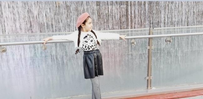 الطفلة.. مايا محمد مجدي